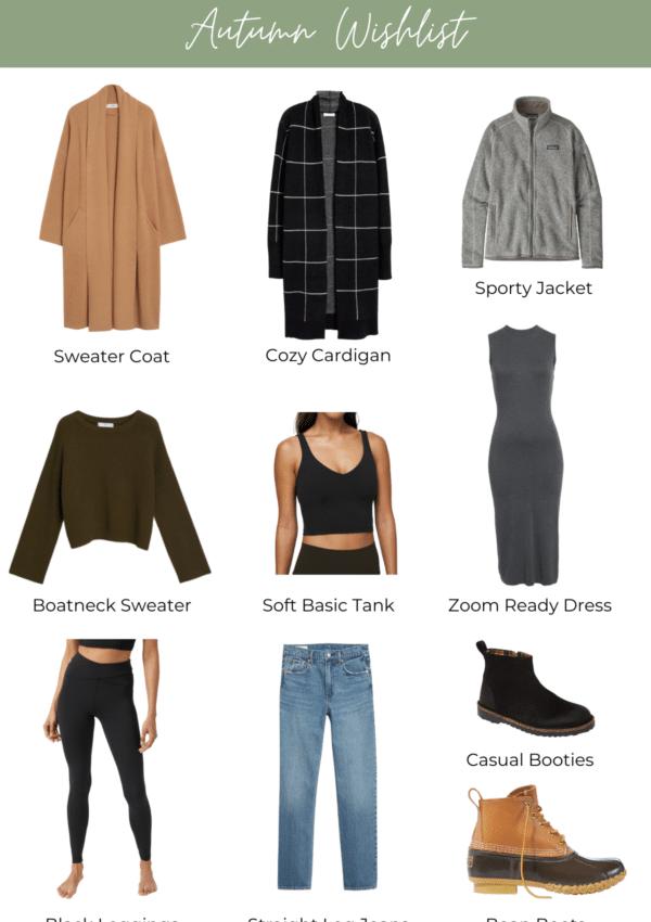 Work From Home Fall Wardrobe Wishlist