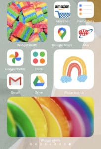 iOS 14 personalized home screen