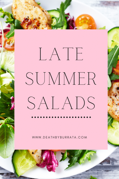 Seven Late-Summer Salads
