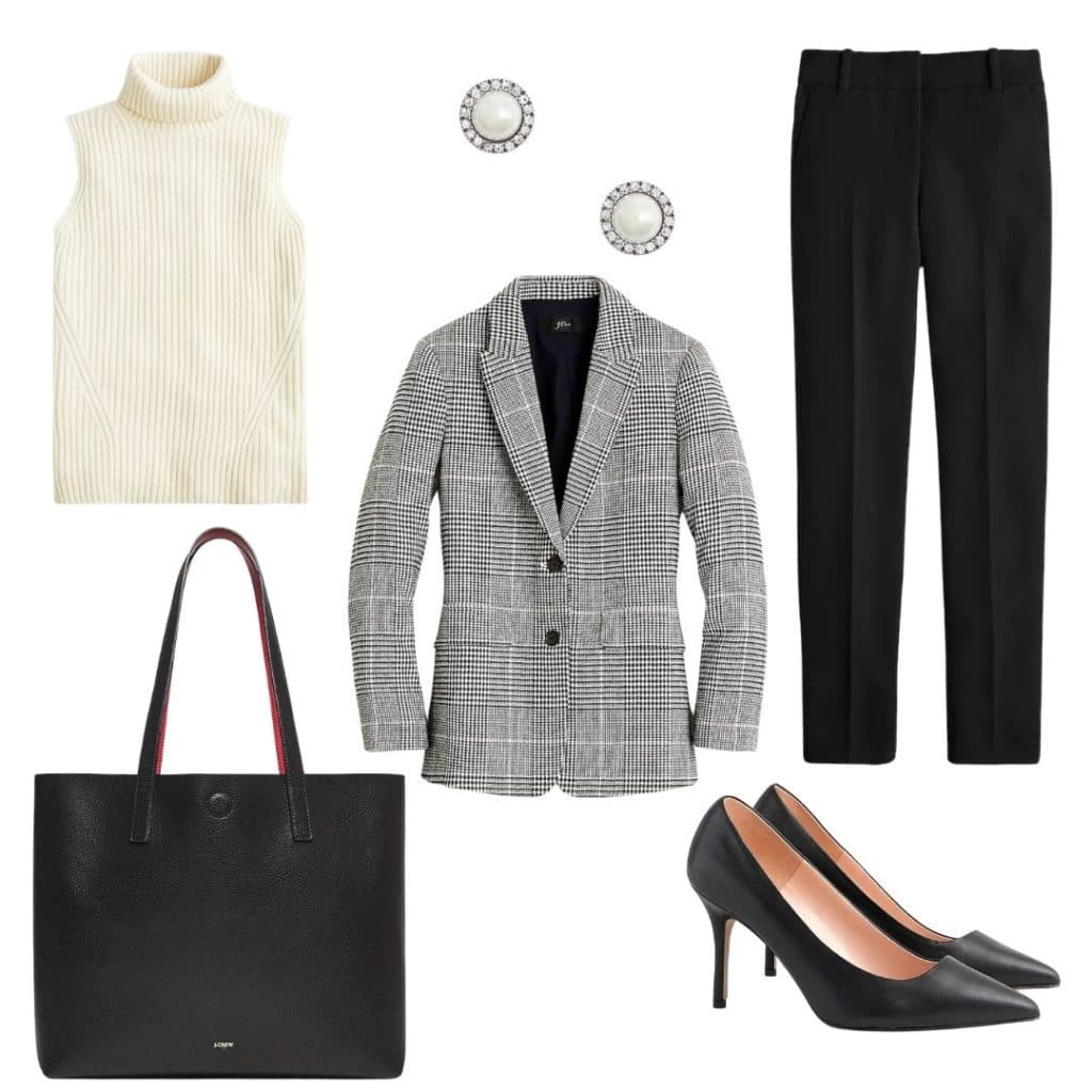 fall and winter workwear outfit