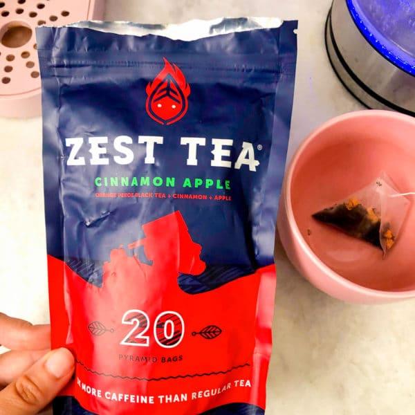 zest tea caffeinated tea