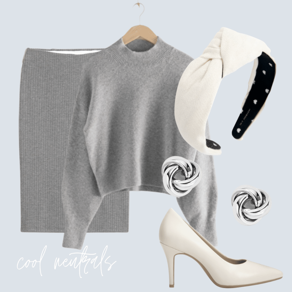 cool neutral outfit