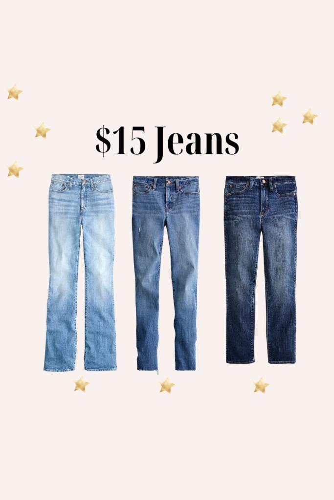 inexpensive jeans