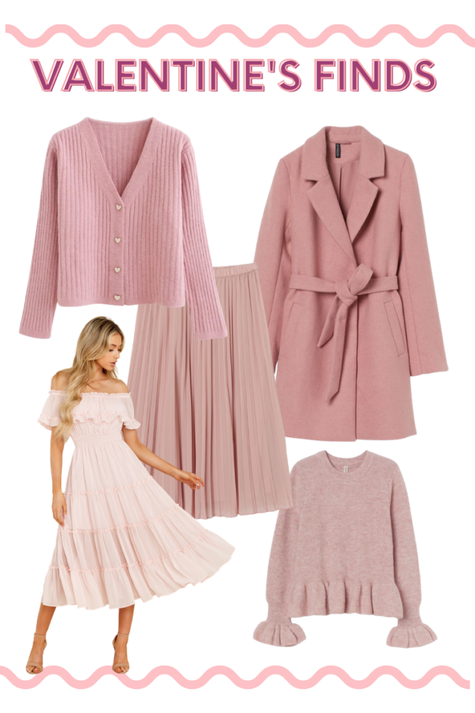 rose valentine's day outfit inspiration