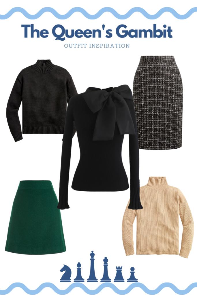 The Queen's Gambit Inspired Sweaters