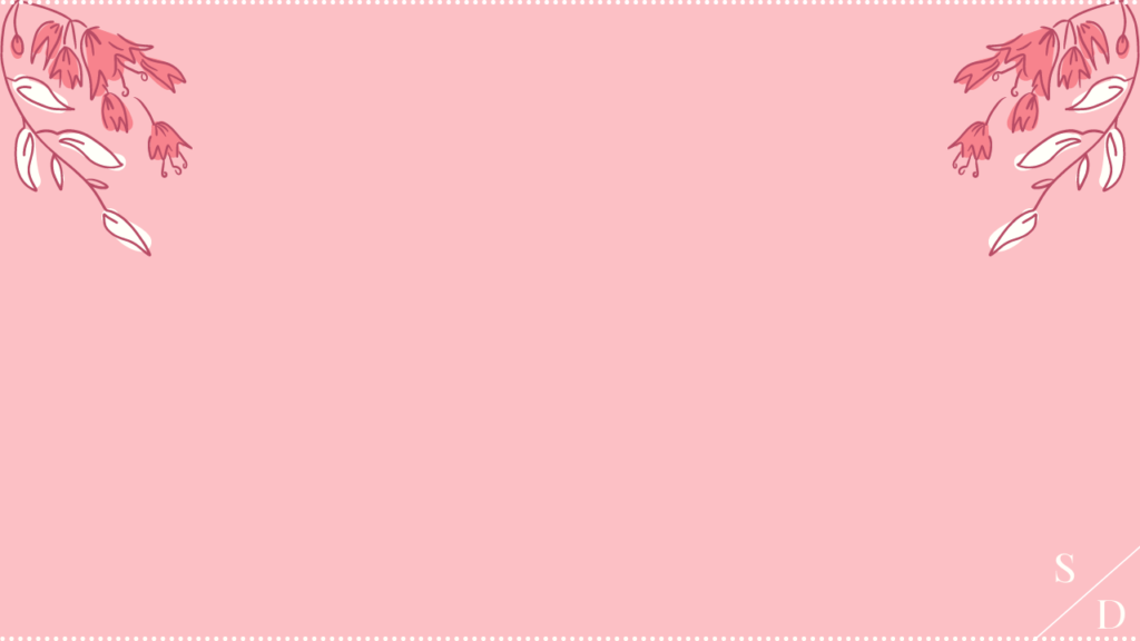 valentine's day zoom background pink floral