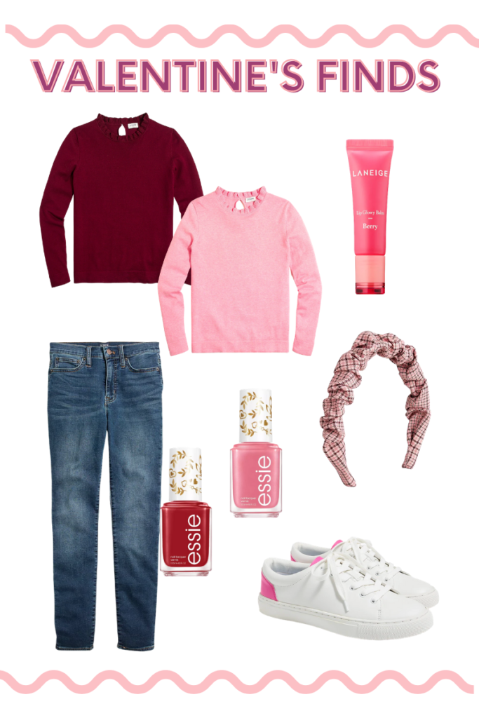 Casual valentines day outfit