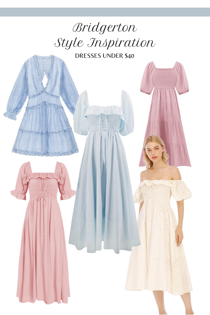 bridgerton dresses