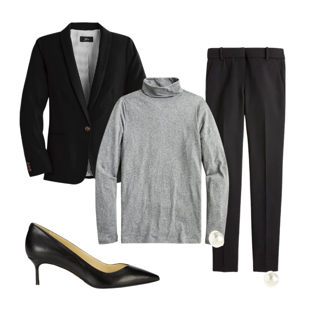 formal job interview outfit