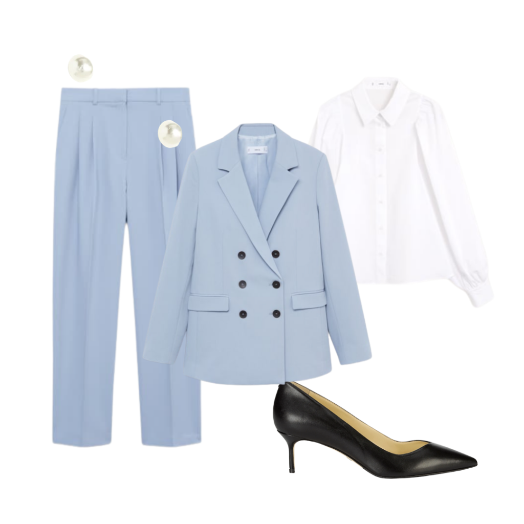fashion brand job interview outfit