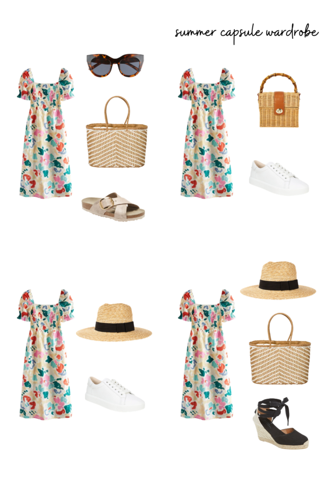summer outfit inspiration. Dress a sundress up or down